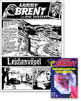 Comic: Leichenvögel - in: Larry Brent